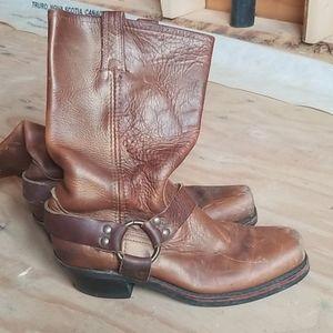 Moto boots woman's